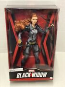 Barbie Signature Marvel Studios Black Widow Avengers Doll 11.5 With Red Hair