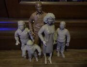 Neca 7inch Scale A Christmas Story The Parker Family Prototype Test Shot 5 Lot