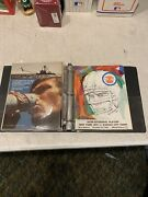 Lot Of 12 1960s 1970s Ny Jets Yearbooks And Programs Collection Lot Playoff