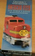 Greenberg's Poket Price Guide American Flyer And Other S Guage Manufacturers 19