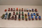 Lot Of 35 Thomas The Train And Friends Metal Diecast Trains And Vehicles