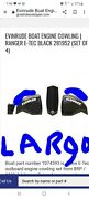 New Evinrude 150 Hp Brp G2 Engine Cowlings With Largo Blue Accent Decals Oem