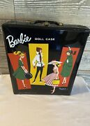 Vintage 1963 Skipper Barbie Doll W/ Outfits And Accessories. Inside 61 Doll Case
