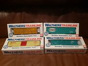 Walthers Trainline Boxcar Stock Car Lot Acl Union Pacific New York Central Nyc