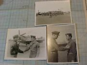 Original Wwii Photo - 23rd Fighter Group Awards Ceremony W/ Aces / P-51