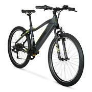 26 Inch Wheelselectric Mountain Bike With 36 Volt Battery Run Time 1 Hr / 20m
