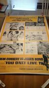 You Only Live Twice 40x60 Esquire Movie Poster
