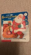 A Very Merry Santa Claus Story Book, Sparkles And Glow In Dark Copyright 1992