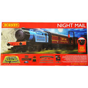 Hornby Royal Mail Night Mail Analogue Train Set Steam Locomotive 176 Scale Oo
