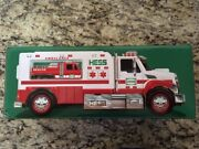 2020 Hess Toy Truck Ambulance And 2020 Hess Truck Plush Toy 2 Trucks Sold Out