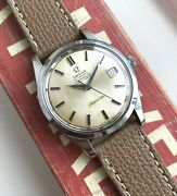 Vintage Omega Seamaster Chronometer Certified Automatic Silver Dial Steel Watch