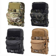 Tactical Vest Hydration Pack Action Chest Rig Backpack Carrier Molle Pouch Bag