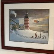 Charles Wysocki Sentinel By The Sea 2494/2500 Hand Signed
