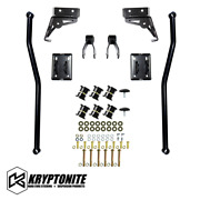 Kryptonite Death Grip Full Floating Traction Bar Kit For 01-10 Gm 2500hd 3500hd