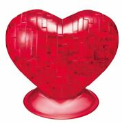 Beverly 3d Crystal Puzzle Red Heart - 45 Pieces
