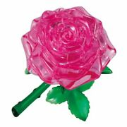 Beverly 3d Crystal Puzzle Rose Pink - 44 Pieces