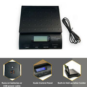 Digital 50lb Postal Table Shipping Mail Scale Large Display Envelope Stand Usb