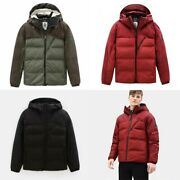 Nwt Menand039s Outdoor Heavy Puffer Jacket Coat Water Repellent S M L 238