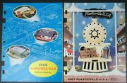 Vintage 1966 And 1967 Plasticville Catalog Bachmann Bros Oss Of Local Distributor