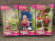 New Fisher Price Loving Family Dollhouse Little Sister Sister Brother Lot