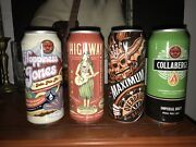 4 Rare Sun King Limited Edition 10th Anniversary Empty Unopened Tabs Beer Cans