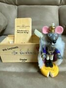 Steinback Mouse King Nutcracker 5.5 Signed Limited Edition Taron Collection