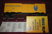 🚅 Lionel 6-17258 Delaware And Hudson Dandh Std.o Boxcar, Fits Mth