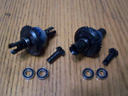 2 Hpi Savage X 4.6 Differential Front And Rear 29t Ring Gear Diff Cups 9t Pinion