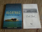 Alcatraz The True End Of The Line By Former Inmate Darwin Coon Signed + Cookbook