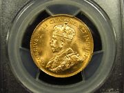 1913 10 Canada Gold Pcgs Ms63 Canadian Gold Reserve 685
