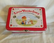 Sale Sanrio Rare Vintage 1987 Little Wonder Story Lunchbox Tin Collect