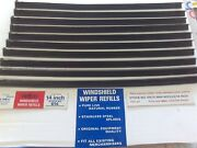 5 Sets Vintage Windshield Wiper Refills 14 Nefco Fits Oem, Trico And Anco Blades