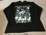 In Flames Long Sleeve T-shirt Reroute To Remain 2002 Vintage Ls Tee Heavy Metal