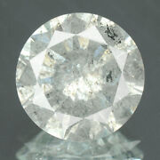 3.00 Cts. Certified Round Cut White Color Solitaire 100 Natural Loose Diamonds