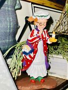 """Retired Dept.56 All Through The House """"mary Jo"""" Figurine W/box"""