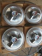 Nos 1964 Ford Xl Hubcaps Orignal Boxes