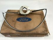1968 1969 Ford Mercury Mustang Cougar Torino Ranchero Steering Wheel Horn Ring N