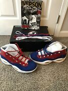 Reebok Question Banner 1775/1996 Size 14 Rare Size Pre Owned With Mag 9.5/10