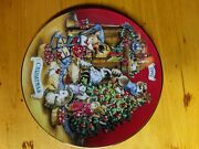 1981-1999 Avon Christmas Plates Without 1984 1997 And 1998