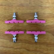 Bicycle Brake Pads For Schwinn Occ Chopper, Mountain Bikes And Others New Pink
