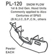 Details West 120 - Snow Plow 1st And 2nd Generator Hood Units Also, Etc - Ho S...