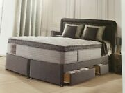 New Sealy Monte Carlo 3800 Mattress Divan Set 180cm By 200cm 6and039 Superking Andpound3k.