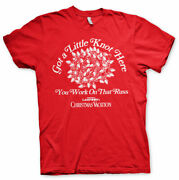 Licensed National Lampoonand039s Christmas- Got A Little Knot Here Menand039s Tshirt S-xxl