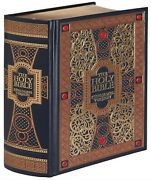 Holy Bible King James Version Gustave Dore Illustrated Leather Bound Gift