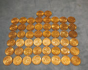Set Of 26 X 10 Liberty Gold Coins Different Yearsthe Price Is For 1 Coin Only