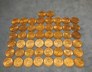 Set Of 39 X 10 Liberty Gold Coins Different Yearsthe Price Is For 1 Coin Only