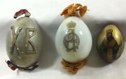 Russian Antique Imperial Period 2 Easter Eggs.