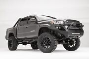 Fab Fours Half Ton Vengeance Pre Runner Front Bumper For 2016 2017 Toyota Tacoma