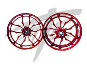 Cbr1000rr Stock Size Lollypop Red Contrast Recluse Wheels 2008-2011 Cbr1000rr