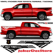 Vinyl Decals Stickers Compatible Withtacoma Trd Pro Car Parts